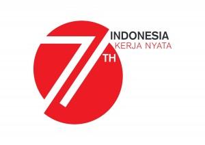 Logo HUT RI ke-71 Tahun 2016